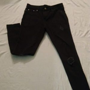 Faded Glory Black Jeans